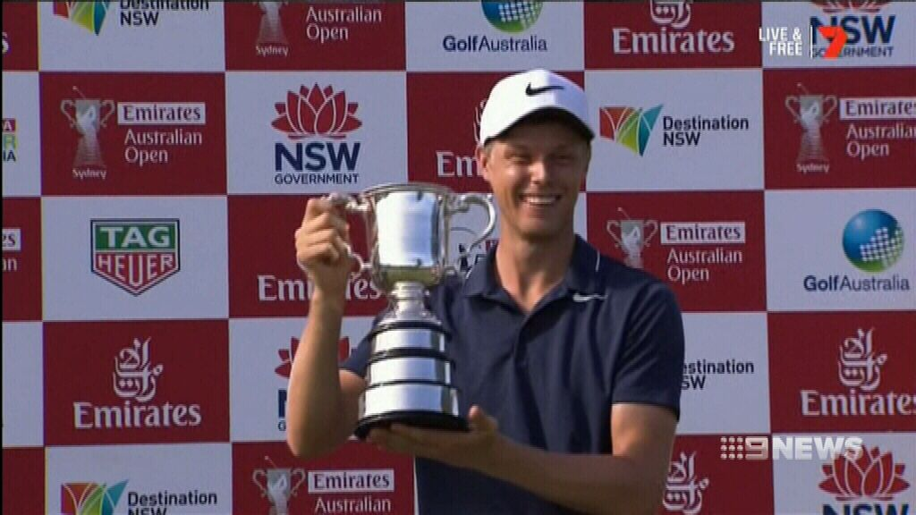 Davis takes out Australian Open golf championship
