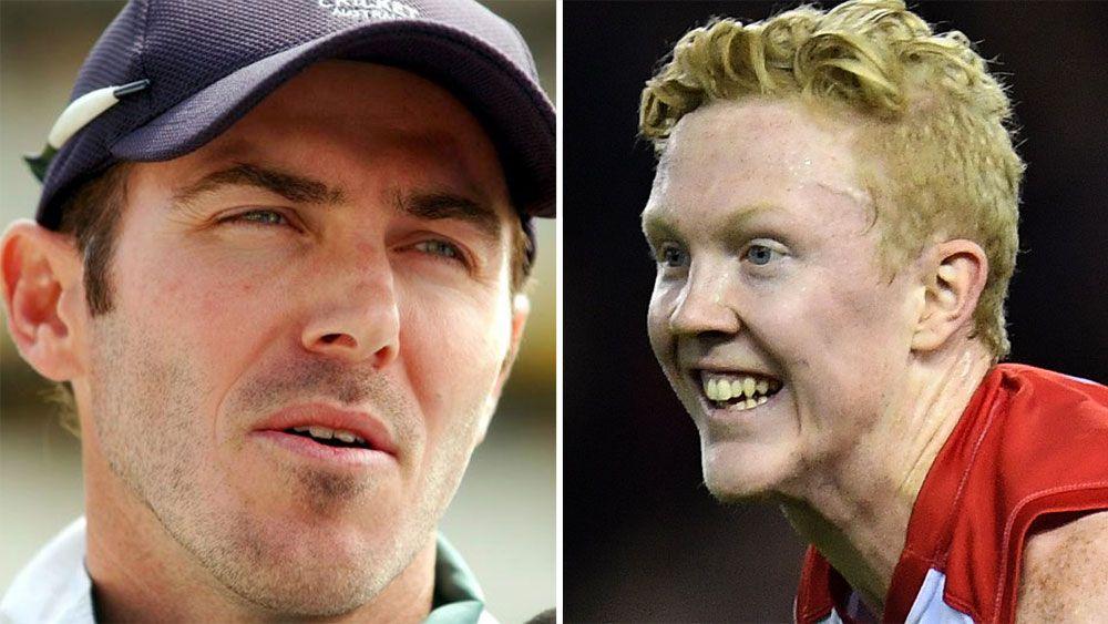 Former Test cricketer Damien Martyn and Melbourne's Clayton Oliver engage in Twitter war over AFL dive