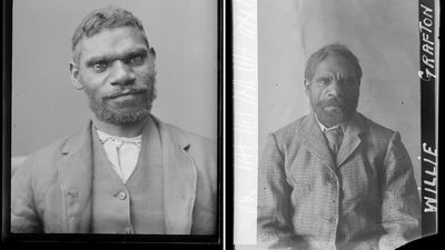 Jacky Bullyell and Willie Kenambury – Albury Gaol, 1894