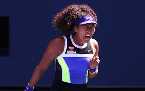 Naomi Osaka wears mask with Ahmaud Arbery's name at US Open and continues to win