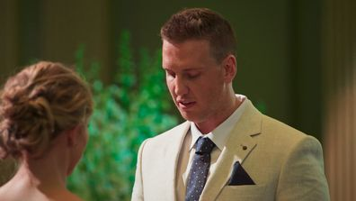 Liam opens his heart to Georgia and reveals he loves her during his Final Vows