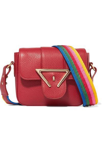 "Sara Battaglia mini-bag, approx. $395 at <a href=""https://www.net-a-porter.com/au/en/product/861934/Sara_Battaglia/lucy-mini-textured-leather-shoulder-bag"" target=""_blank"">Net-a-porter</a><br>"