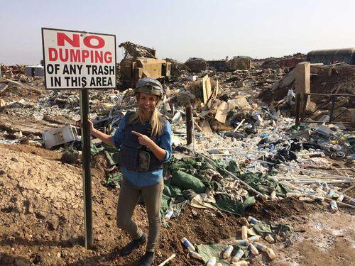 'No Dumping'. (Image: Elizabeth Creasy)