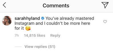 Jennifer Aniston, Instagram, photo, celebrity comments
