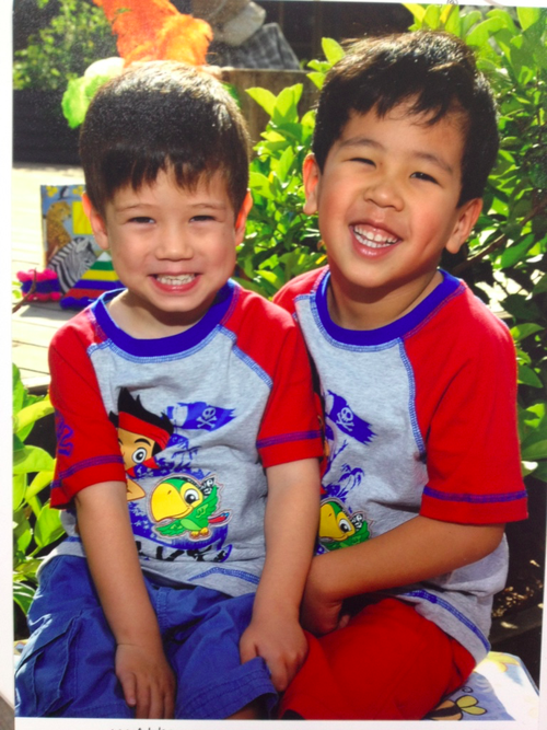 The Parliamentary committee is examining ways to streamline the adoption process to bring greater stability for children like Josiah and Kaleb. Picture: 9NEWS