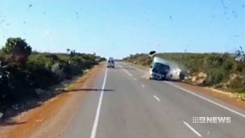 The tourist driver tried to overtake a campervan, driving into the path of an oncoming bus.