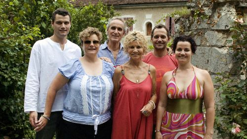 """Mary (front centre) and Gerry Genke (back centre) have been remembered by family as """"vivacious"""" and """"spirited"""". (supplied)"""