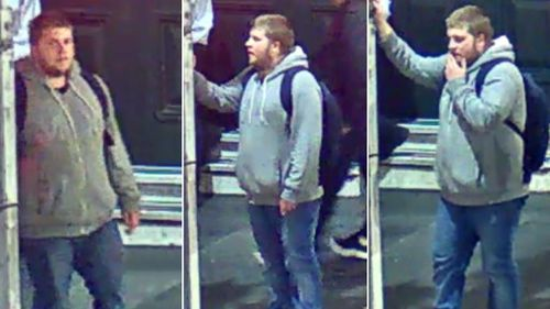 Police released these images of a man in relation to their investigation. (Victoria Police)