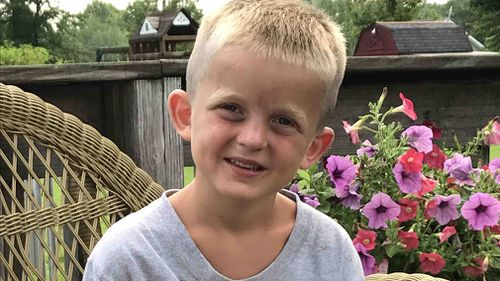 Seven-year-old Wyatt Shaw now has to undergo rehab. (Facebook)