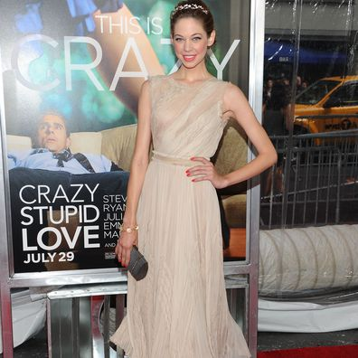 """Lio Tipon at the """"Crazy, Stupid, Love."""" World Premiere in 2011."""