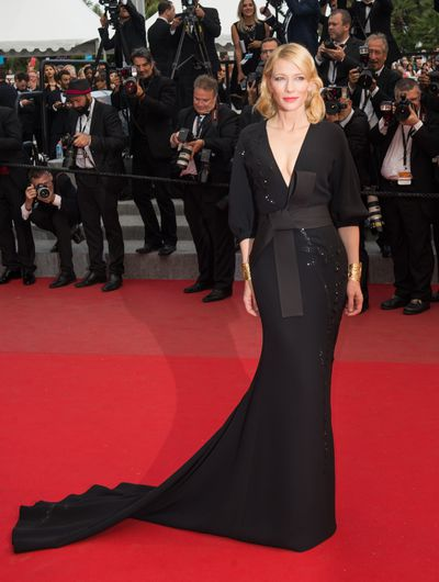 <p>Cate Blanchett in&nbsp;Armani Prive</p>