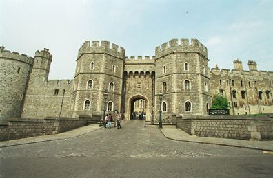 Windsor Castle is one of the royal family's residences in the UK.