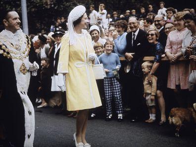 Queen Elizabeth in Australia, 1970