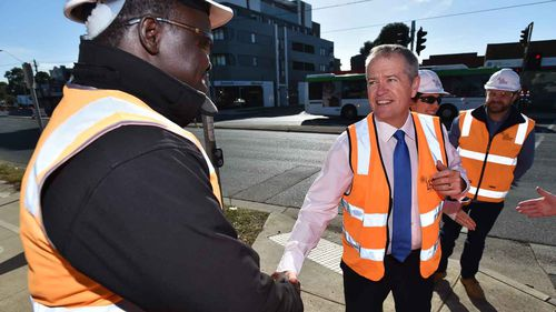 Bill Shorten said the current minimum wage is not enough.