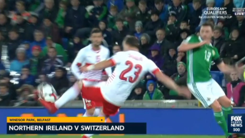 Swiss advance to World Cup after controversial penalty