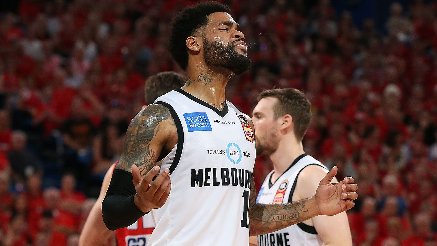 Melbourne United left fuming after non-calls in stunning Game 3 blowout loss to Wildcats