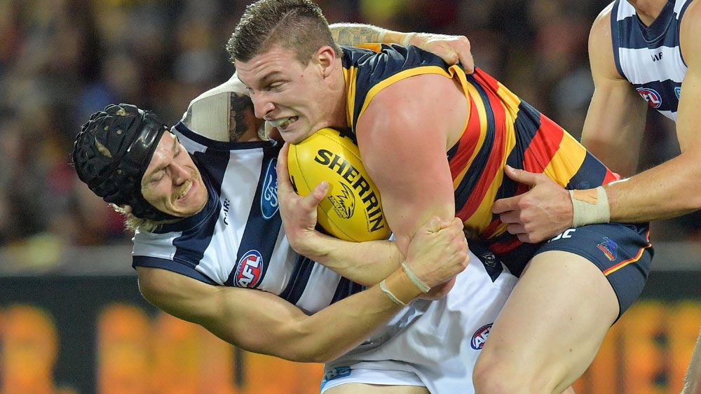 Crows stun Cats to stay top of AFL ladder