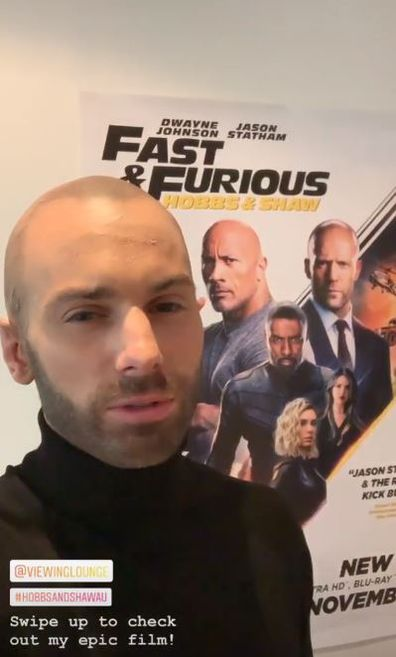The Bachelor, Matty J, Fast & Furious, Hobbs & Shaw, spoof, video, Jason Statham