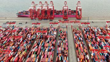 Global supply chain disruptions have continued to affect the global economy.