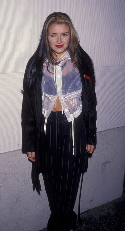 Dannii Minogue at the premiere of <em>Strictly Ballroom</em> in Hollywood, February, 1993