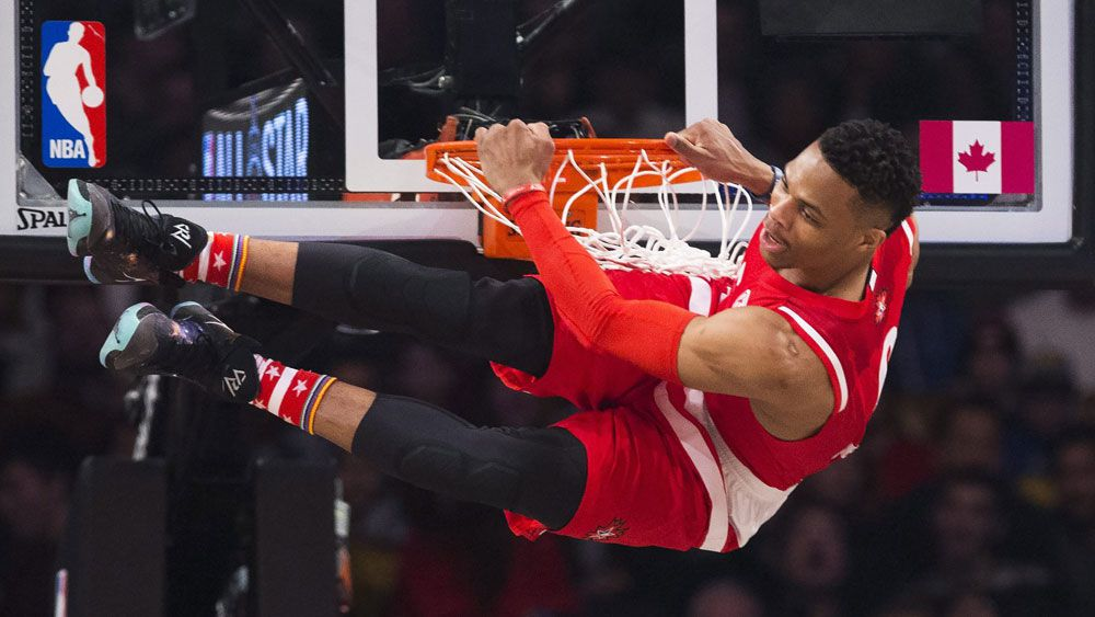 Westbrook MVP in record NBA All-Star game