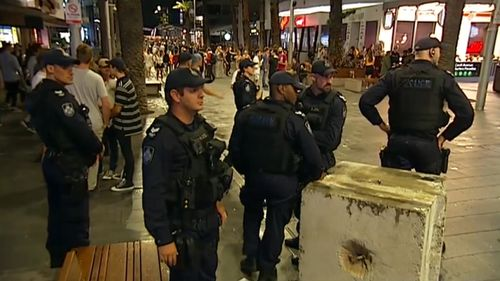 Police were overall pleased with revellers' behaviour. (9NEWS)