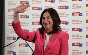 Annastacia Palaszczuk claims third term as Premier as Labor returned to government