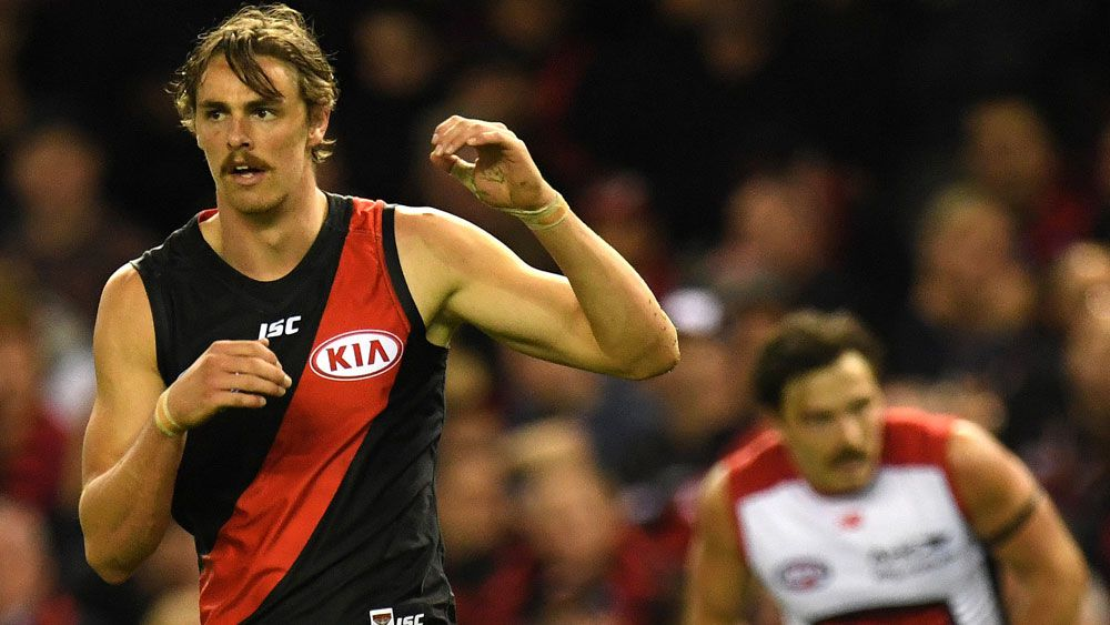 Essendon's Joe Daniher has bad day with the boot in AFL loss to Melbourne