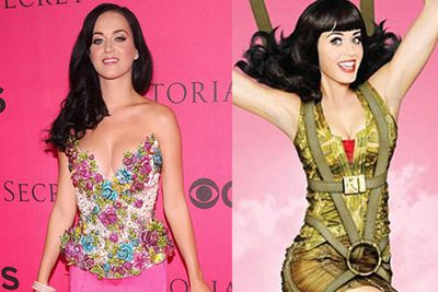 Katy Perry ordered her own epic cleavage to be toned down for a promotional shot.