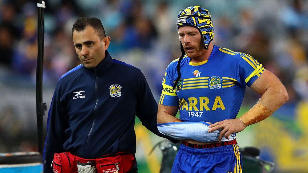 Parramatta Eels lose NRL captain Beau Scott for season