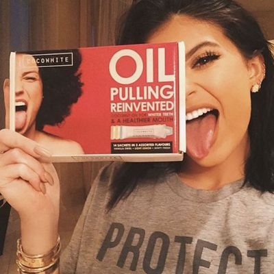 <p>Whatever the hell oil pulling is</p>