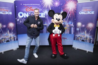 Tom Williams  and Mickey Mouse