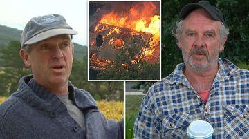 Victoria bushfires emergency crisis Gippsland Jinks Creek Winery Andrew Clarke backburning