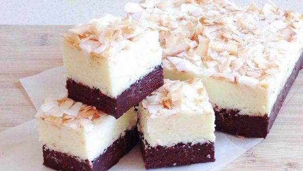 Katherine Sabbath's dark chocolate whiskey mocha and Malibu toasted coconut fudge