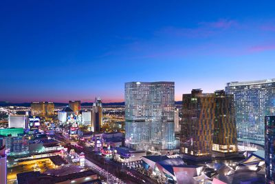 Explore the Strip from above