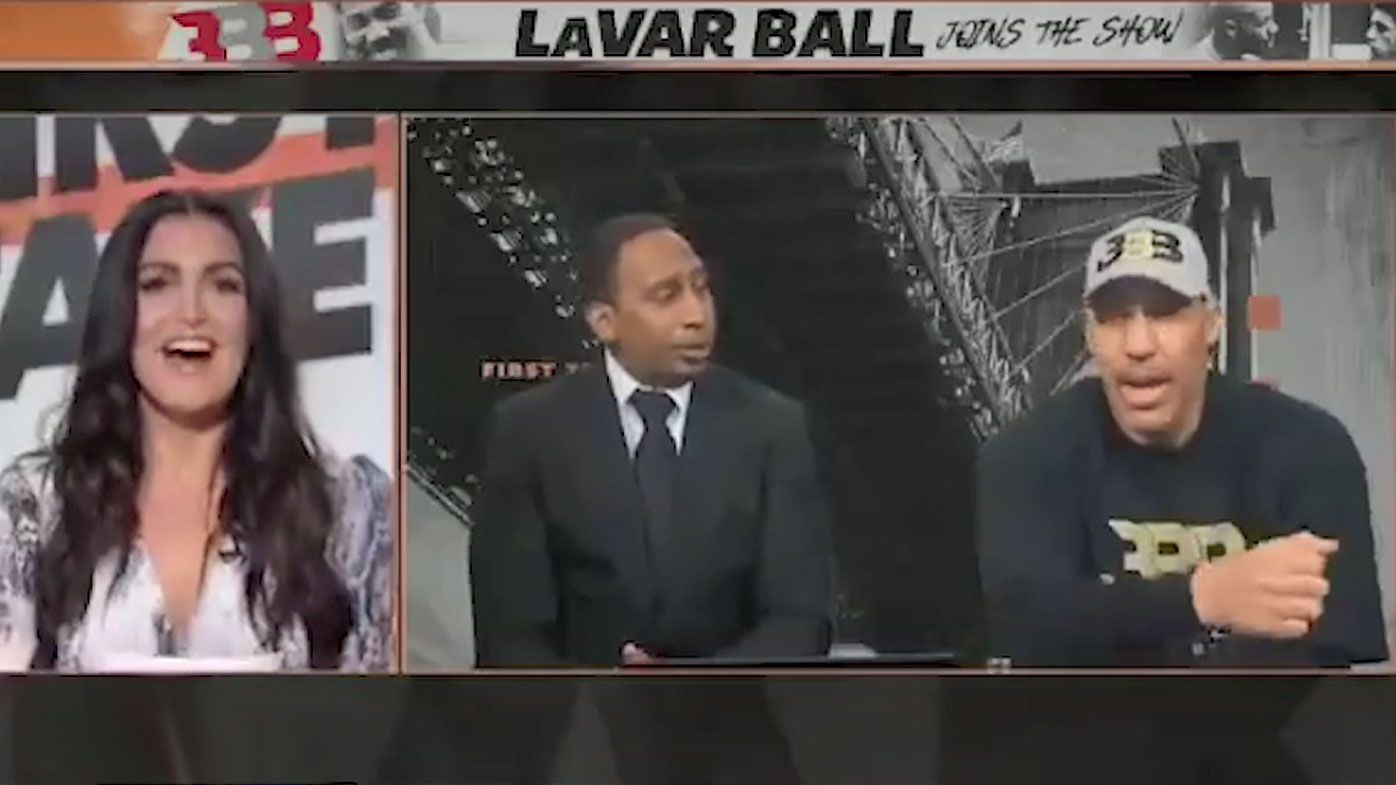 LaVar Ball in hot water over 'inappropriate' remark to female TV host