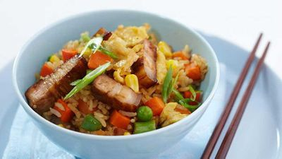 Wednesday: Pork fried rice