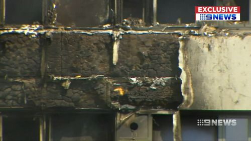 Buildings in Parramatta, North Sydney and the City were found to have the highly flammable cladding in them.
