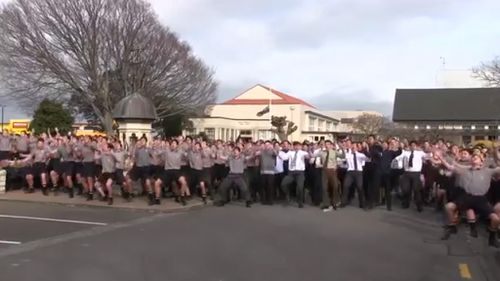 Teachers said it was a day of celebration of the life of Mr Tamatea.