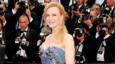 Nicole Kidman at the premiere of 'Grace of Monaco' and the Cannes Film Festival in 2014.