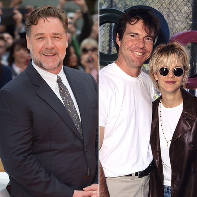 Russell Crowe, Dennis Quaid and Meg Ryan