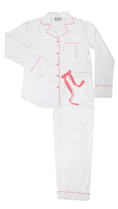"<p><a href=""http://www.poplin.co.uk/shop/pink-neon-classic.html"">Pink Neon Classic Pyjama, approx. $222, Poplin</a></p>"