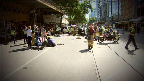 The Flinders Street crash took place on December 22.