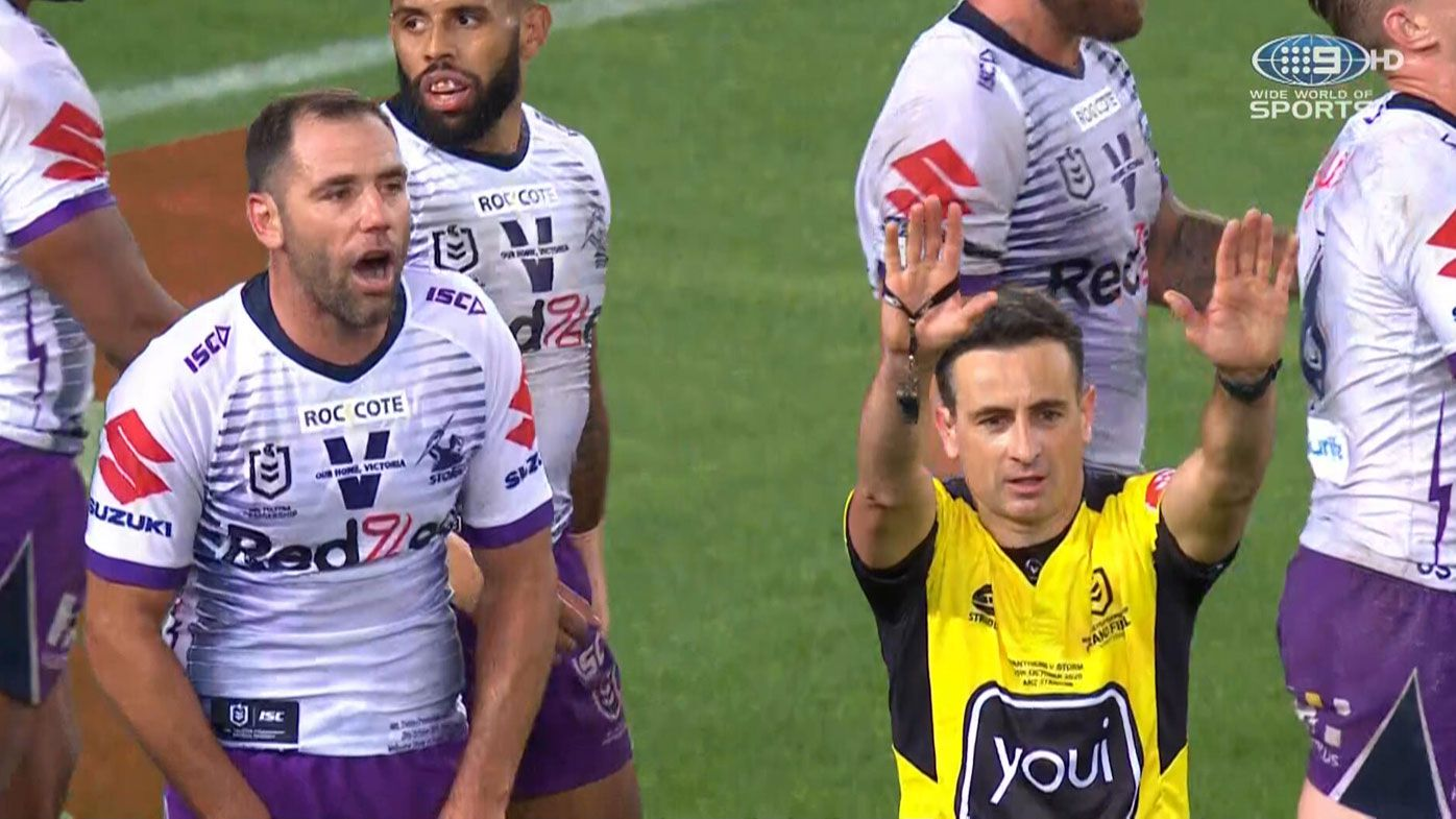 'Make an exciting finish': Cameron Smith's accusation for NRL grand final officials