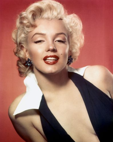 Monroe poses for a portrait in circa 1953.