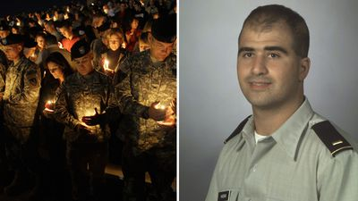 Major Nidal Malik Hasan, 39, killed 13 people, and injured a further 32, on November 5, 2009, when he open fired at Fort Hood military base in Texas. (AAP)