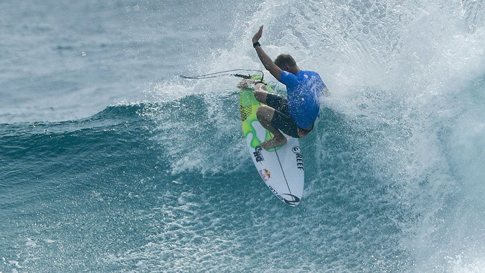 Mick Fanning's return to the surfing tour was a winning one. (AAP)