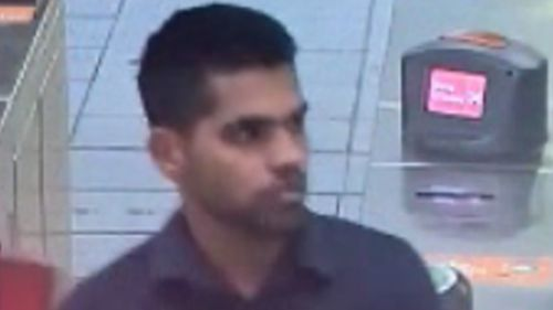 The man police want to talk to after an 18-year-old woman was allegedly indecently assaulted by a man while on a bus travelling from Parramatta to Baulkham Hills