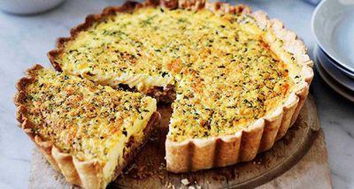 "Recipe:&nbsp;<a href=""http://kitchen.nine.com.au/2016/05/13/13/18/quiche-alsacienne"" target=""_top"">Quiche Alsacienne</a>"