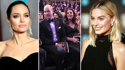 GALLERY: Pregnant Kate outshines stars at the BAFTAs